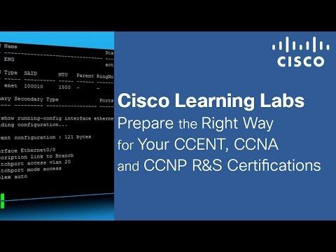 CCENT, CCNA, And CCNP Lab Simulations With Cisco Learning Labs