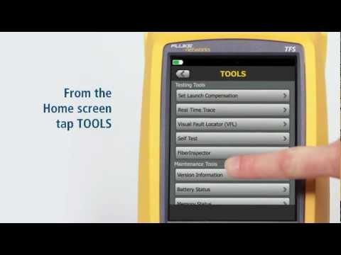 OptiFiber Pro OTDR - Navigation & Testing .Section 1: By Fluke Networks
