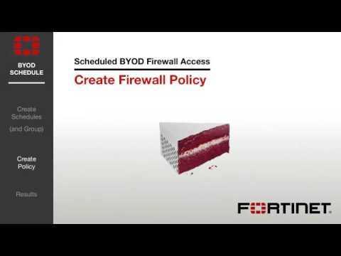 FortiGate Cookbook   Scheduled BYOD Access 5 2