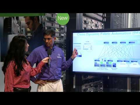 Cisco Dynamic Fabric Automation At Cisco Live 2013