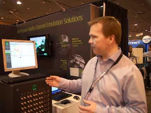 CTIA 2012: Elektrobit Virtual Drive Test Emulator
