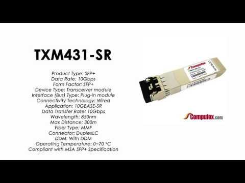 TXM431-SR  |  Tp-Link Compatible 10GBase-SR 850nm 300m SFP+