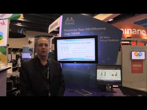 Maximize Your VDI Efficiency Over VSAN - VMworld 2014