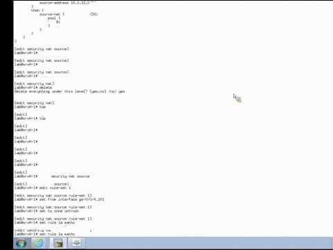 SRX Source NAT Learning Byte