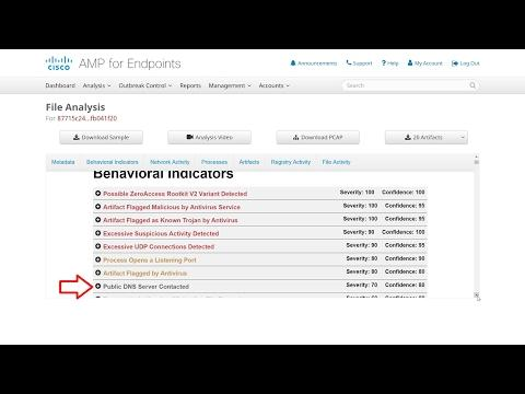 Cisco AMP For Endpoints Feature Overview: File Analysis