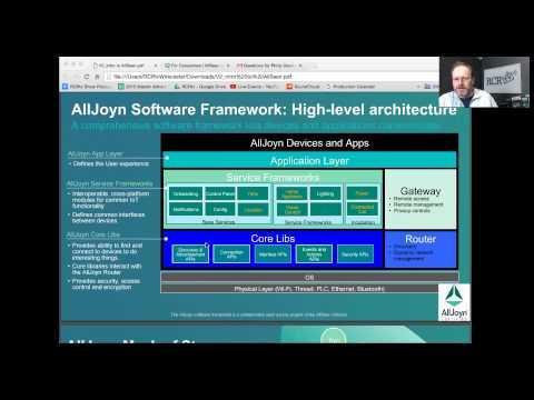 Linux Foundation AllJoyn Delivering IoT Interoperability  - IoT Innovation Episode 29