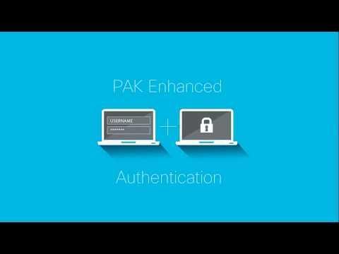 PAK Enhanced Authentication