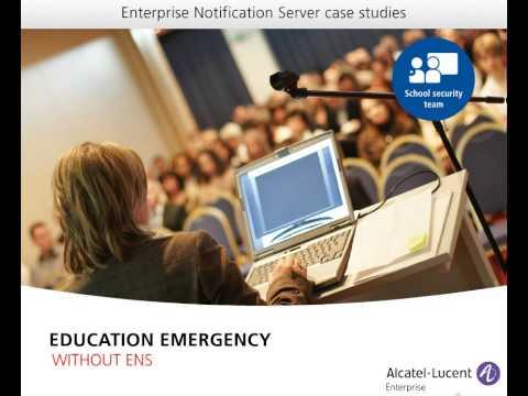 Case Study - Emergency Notification For Education