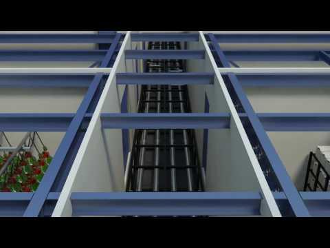 Skanska Data Center Construction Simulation