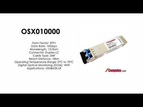 OSX010000  |  Huawei Compatible SFP+ 10GBASE-LR SMF 1310nm 10km