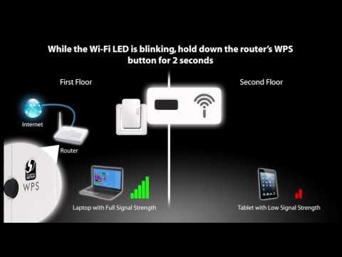 PLA4231 - 500 Mbps Powerline Wireless N Extender