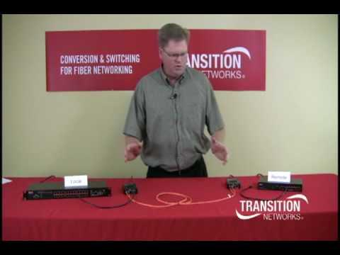 Transition Networks, Product Manager  Curt Carlson Demonstrates