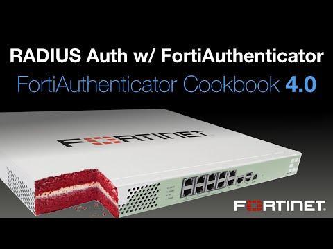 Cookbook - RADIUS Auth. W/ FortiAuthenticator (4.0)