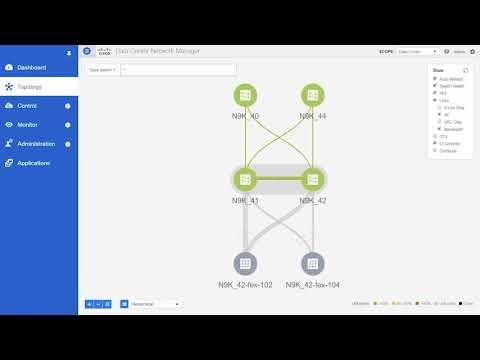 Demo: Using Topology Search In Cisco DCNM, Release 11