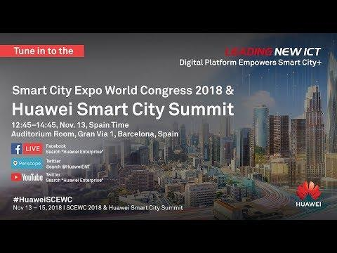 Full Video: Huawei Global Smart City Summit 2018