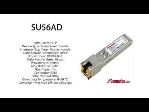 SU56AD  |  Marconi Compatible 1000BASE-T SFP RJ45 100m