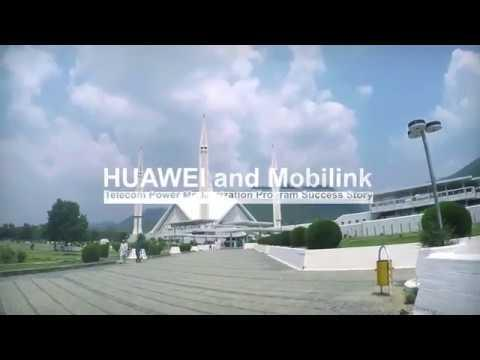 Pakistan Adopts Huawei's Hybrid Power Solution
