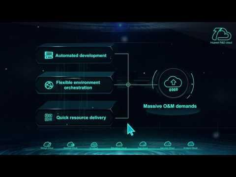 Huawei's R&D Cloud Technical Solution