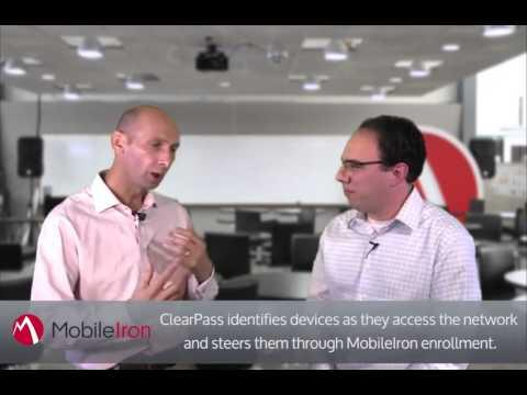 Mobile Aware Wi-Fi With MobileIron EMM And Aruba ClearPass