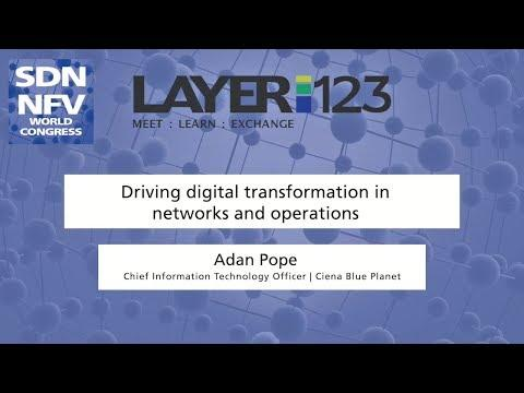 Driving Digital Transformation In Networks And Operations | SDN NFV World Congress 2018