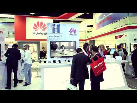 GITEX 2013, Dubai - Huawei Highlights Of Day 4