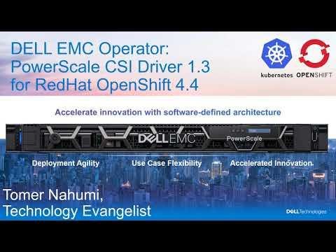 Dell EMC PowerScale CSI For RedHat OpenShift