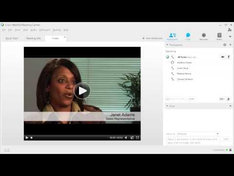 WebEx: Use Sharing (WBS29.12)