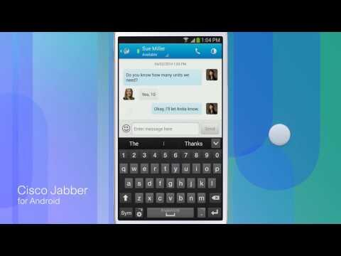 Cisco Jabber For Android IM & Presence