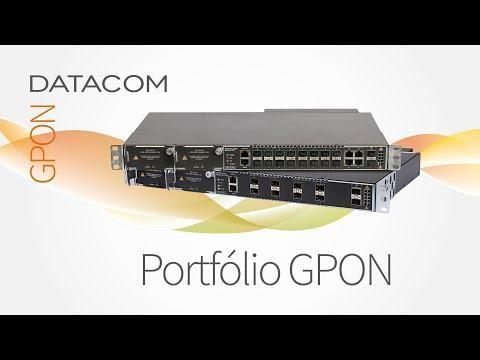 Portfólio GPON DATACOM