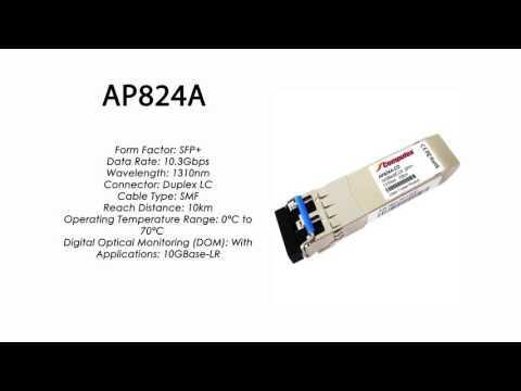 AP824A     HP Compatible 10GBase-LR SFP+ 1310nm 10km