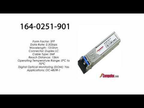 164-0251-901  |  Ciena Compatible OC-48/IR-1 SFP 1310nm 15km SMF