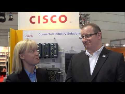 Hannover Messe 2013 | Adrienne Meyer, ODVA & Guy Denis, Cisco