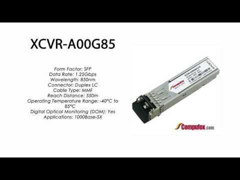 XCVR-A00G85  |  Ciena Compatible 1000Base-SX 550m 850nm SFP