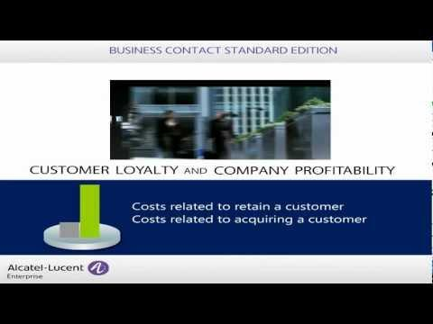 Alcatel-Lucent Enterprise - Business Contact Standard Edition Overview