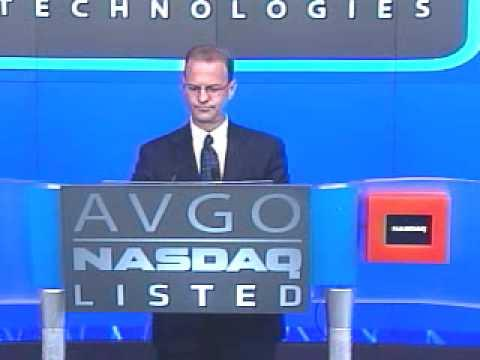 Avago's NASDAQ Listing Opening Bell Ceremony