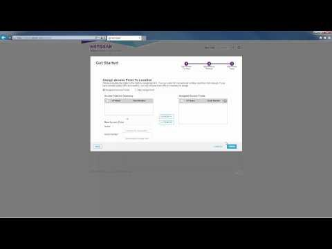 NETGEAR Business Central Wireless Manager Setup And Discovery