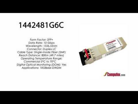 1442481G6C  |  Adtran Compatible 10GBase-DWDM 1556.55nm 80km SFP+