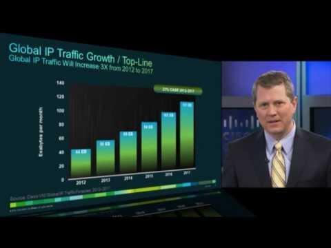 Announcing VNI Global IP Traffic Highlights 2012-17 (webcast)