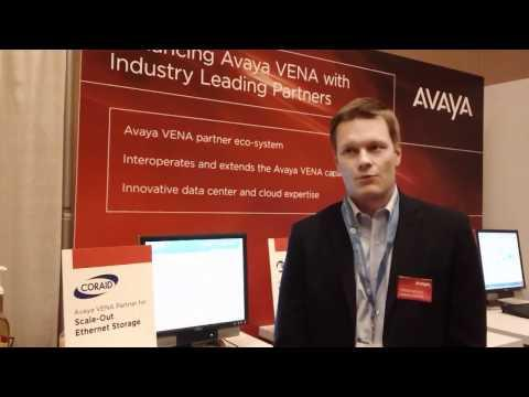 Avaya-Coraid Partnership For Virtual Enterprise Network Architecture - Interop 2011