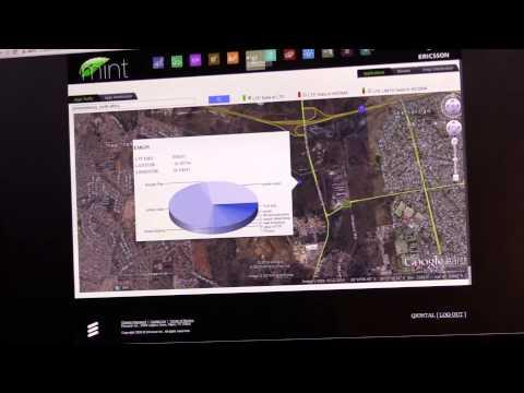 #GLOBECOM: Ericsson Mint Analytics Demo
