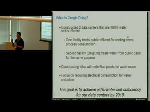 Google Efficient Data Centers Summit - 3 Of 3