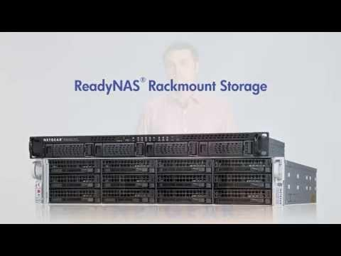 NETGEAR ReadyNAS Rackmount Storage
