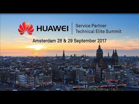 Huawei Enterprise WEU 1st Channel Partner HCIE Event