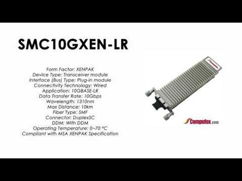 SMC10GXEN-LR  |  SMC Compatible 10GBase-LR 1310nm 10km XENPAK