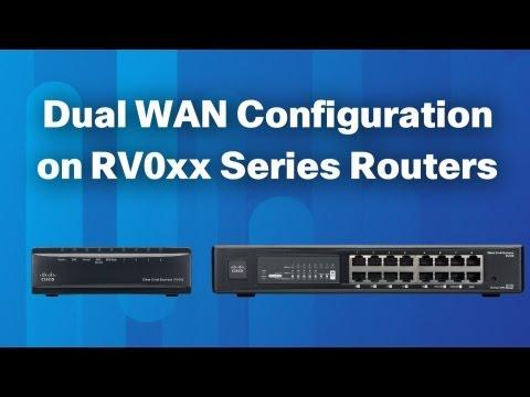 Dual WAN Configuration On RV0xx Series Routers