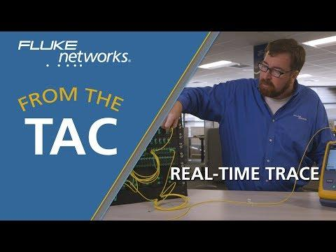 Real-Time Trace With Faster Setup In The OptiFiber® Pro OTDR By Fluke Networks