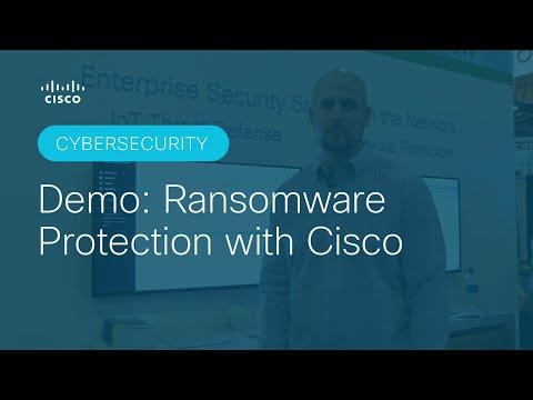 Ransomware Protection With Cisco Demo