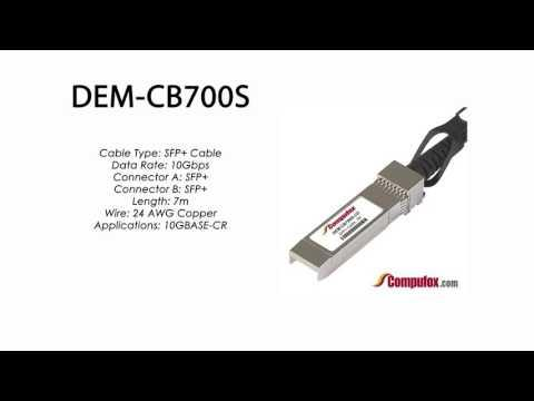 DEM-CB700S     D-Link Compatible SFP+ Direct Attach Stacking Cable Active 7M