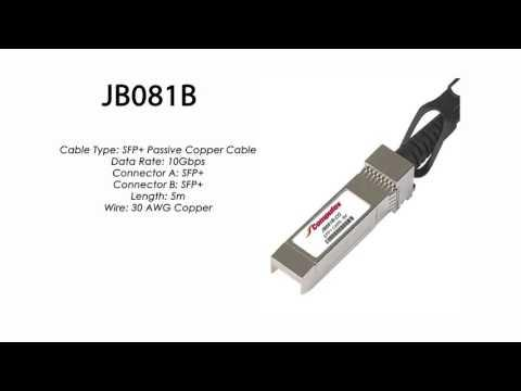 JB081B  |  HP Compatible SFP+ Passive Copper Cable 5m