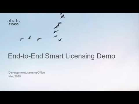 End-to-End Smart Licensing Demo